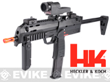 H&K Umarex MP7 Rapid Deployment Hard Kick Airsoft Gas Blowback by KWA (Color: Black / Add 2 CO2 Magazines)