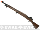 6mmProShop M1903 Bolt Action Airsoft CO2 Gas Powered Rifle with Real Wood Furniture