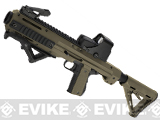 Matrix MEU Carbine Rapid Deployment Series Airsoft Rifle - Dark Earth / Black