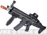 FN Licensed Open Bolt SCAR-L CQC Airsoft GBB Rifle by WE (Color: Black / CO2 Mag)