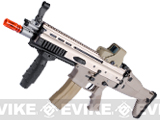 FN Licensed Open Bolt SCAR-L CQC Airsoft GBB Rifle by WE (Color: Tan / CO2 Mag)