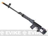 WE-Tech Full Metal CNC Aluminum SVD Airsoft GBB Gas Blowback Sniper Rifle (500+ FPS)