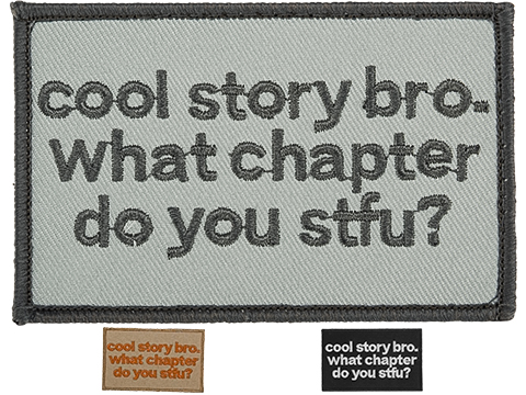 Griffon Industries Cool Story Bro Patch