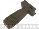 Matrix Short Vertical Support Grip for Airsoft Rifles (Color: OD Green)