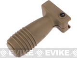 Matrix Short Vertical Support Grip for Airsoft Rifles (Color: Dark Earth)