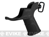 "APS Hakkotsu ""Endurance"" Grip with Integrated Trigger Guard for M4 Series Airsoft AEG Rifles - Black"