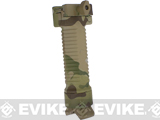Scar Type Vertical Support Tactical Bi-pod Grip (Color: Camo)