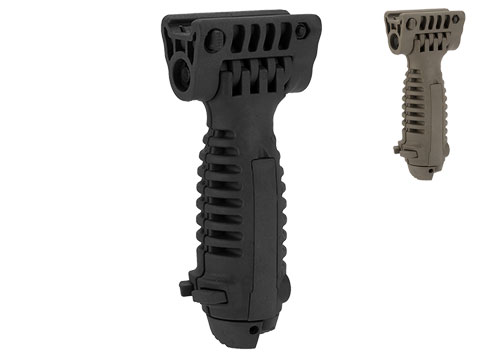 Matrix SB Type Vertical Bipod Grip for Airsoft Rifles (Color: Black)