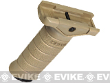 Stark Equipment SE3 Vertical Support Tactical Foregrip with PS Pocket - Desert