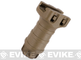 Stubby RIS Tactical Vertical Support Fore Grip For Airsoft (Color: Dark Earth)