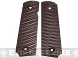 WWII type 1911 Grip Panel Set for WE 1911 Series Airsoft GBB Pistol