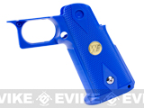 Custom IPSC Grip for HICAPA Series Airsoft Gas Blowback Pistols - Blue