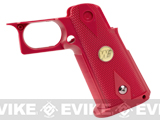 Custom IPSC Grip for HICAPA Series Airsoft Gas Blowback Pistols - Red