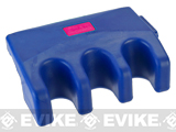 STAR Rubber Tableside Portable Gun Rack - Blue