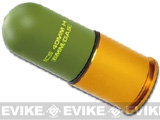 ICS High Speed 70 round M203 40mm Airsoft Gas Grenade Shell (Set of 2)