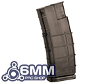 6mmProShop 450 Round Rifle Mag Size Airsoft Universal BB Speed Loader - Brown