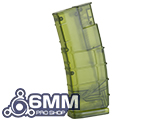 6mmProShop 450 Round Rifle Mag Size Airsoft Universal BB Speed Loader - Jungle Green