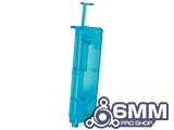 6mmProShop 120 Round Pistol Mag Size Airsoft Universal BB Speed Loader (Color: Blue)