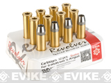 Gun Heaven Full Metal Brass Shells for WinGun / Dan Wesson 6mm Series Airsoft Co2 Revolvers - Set of 12