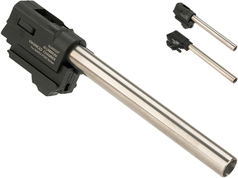Guarder CNC Machined Aluminum Enhanced Hop-Up and Barrel Assembly w/ 6.01 Tightbore Inner Barrel (Model: TM P226/E2)
