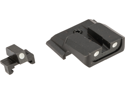 Guarder Steel Sight Set for Tokyo Marui M&P9 Gas Blowback Airsoft Pistol