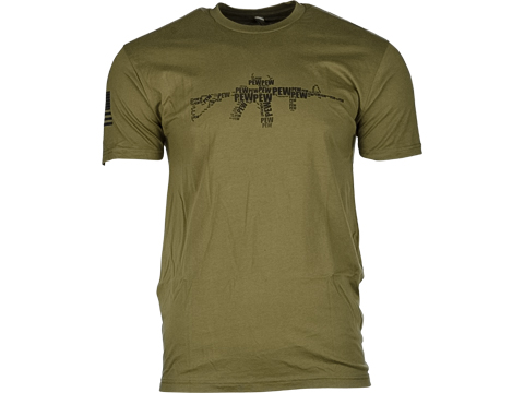 Guardian Apparel PEW PEW PEW Graphic Tee