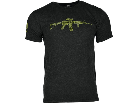 Guardian Apparel PEW PEW PEW Tri-Blend Graphic Tee