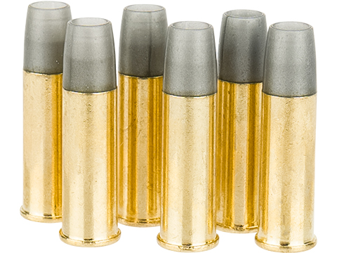 Gun Heaven Spare Shells for Webley MK VI Gas Powered Airsoft Revolver - Pack of 6