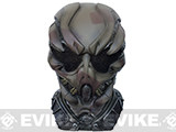 Evike.com R-Custom Fiberglass Mask w/ Wire Mesh Gunner - Brown