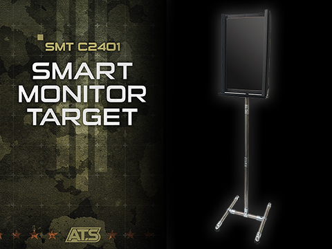 GUNPOWER SMT Digital Target Display and Stand Unit (Size: 24 inch / Vertical)
