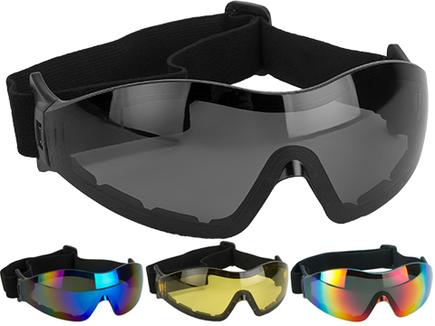 Global Vision Z-33 ANSI Z87.1 Rated Anti-Fog Safety Shooting Goggle