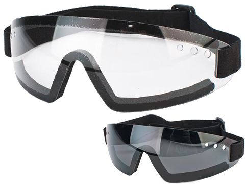XPower Antifog Polycarbonate Safety Shooting Goggles with UV Protection