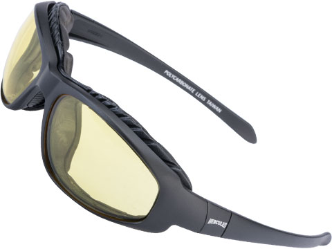 Global Vision Hercules 2 Plus Padded Safety Glasses w/ Yellow Tint Lenses