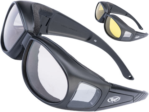 Global Vision Outfitter 24 Over the Glasses Safety Goggles w/ Photochromatic Anti-Fog Lenses