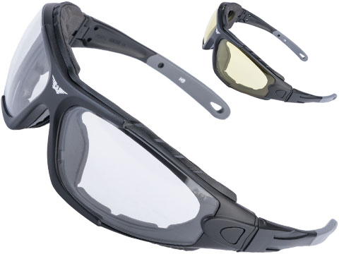 Global Vision Shorty 24 Safety Goggles Kit w/ Photochromatic Anti-Fog Lenses