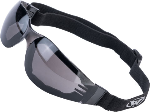 Global Vision Ideal Padded Safety Goggles (Model: Smoke Lenses)