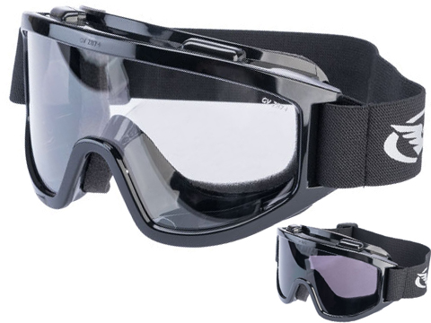 Global Vision Windshield Anti-Fog Full Seal Goggles (Color: Clear Lens)