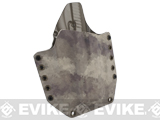 KAOS Concealment Kydex Belt / MOLLE Holster - KWA ATP  (Right / A-TACS)