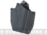 KAOS Concealment Belt / MOLLE Kydex Holster (Model: M9A1 / Black / Right Hand)