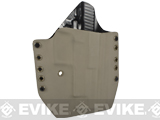 KAOS Concealment Belt / MOLLE Kydex Holster (Model: KWA P226 / Dark Earth / Right Hand)
