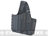 KAOS Concealment Belt / MOLLE Kydex Holster (Model: USP Compact / Black / Left Hand)