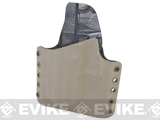 KAOS Concealment Kydex Belt / MOLLE Holster - KWA USP Compact (Left / Dark Earth)