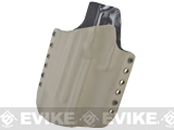 KAOS Concealment Kydex Belt / MOLLE Holster - KWA USP Match (Left / Dark Earth)