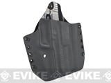 KAOS Concealment Belt / MOLLE Kydex Holster (Model: KWA USP Tactical / Black / Right Hand)