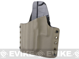 KAOS Concealment Belt / MOLLE Kydex Holster (Model: KWA USP Tactical / Dark Earth / Left Hand)