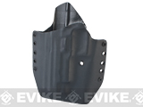 KAOS Concealment Belt / MOLLE Kydex Holster (Model: KWA P226 / Black / Left Hand)
