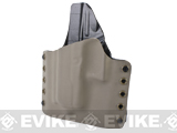 KAOS Concealment Belt / MOLLE Kydex Holster - WE26 (Left / Dark Earth)