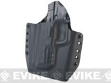 KAOS Concealment Belt / MOLLE Kydex Holster (Model: VFC / SAI M&P / Black / Left Hand)