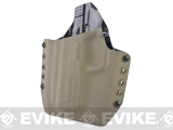 KAOS Concealment Belt / MOLLE Kydex Holster (Model: VFC / SAI M&P / Dark Earth / Left Hand)