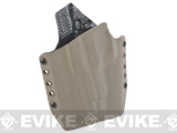 KAOS Concealment Kydex Belt / MOLLE Holster - WE Marui KJW 226 P-Virus (Left / Dark Earth)